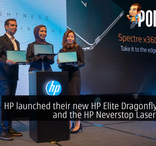 HP launched their new HP Elite Dragonfly laptop and the HP Neverstop Laser printer 31