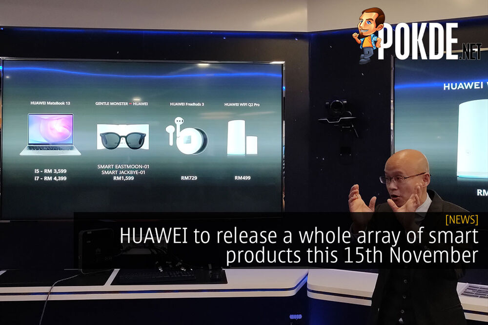 HUAWEI to release a whole array of smart products this 15th November 24
