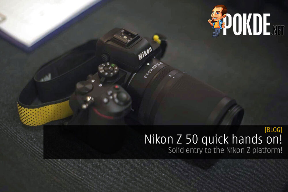 Nikon Z 50 quick hands on! Solid entry to Z system! 24