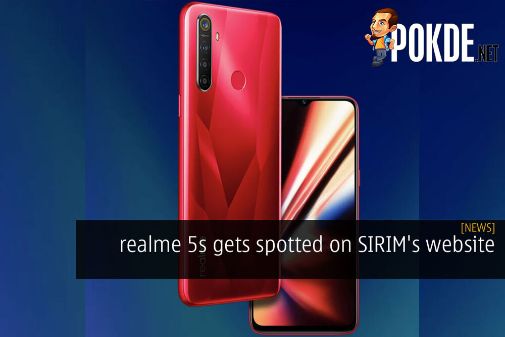 realme 5s gets spotted on SIRIM's website 19