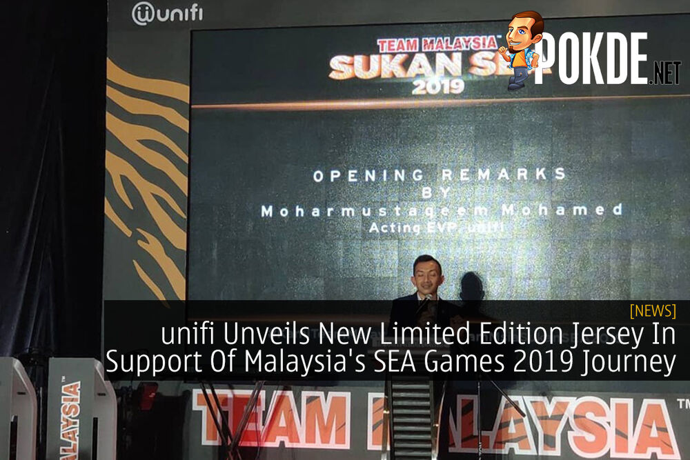 unifi Unveils New Limited Edition Jersey In Support Of Malaysia's SEA Games 2019 Journey 24