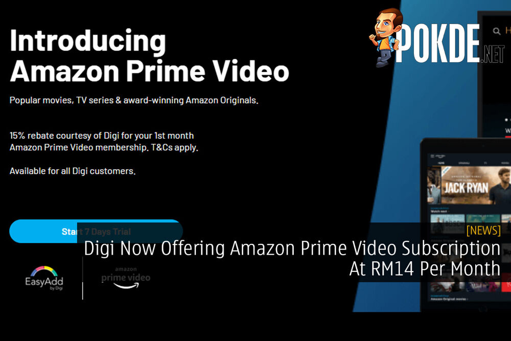 Digi Now Offering Amazon Prime Video Subscription At RM14 Per Month 16