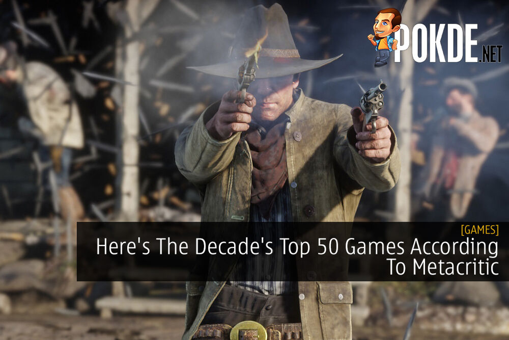 Here's The Decade's Top 50 Games According To Metacritic 16