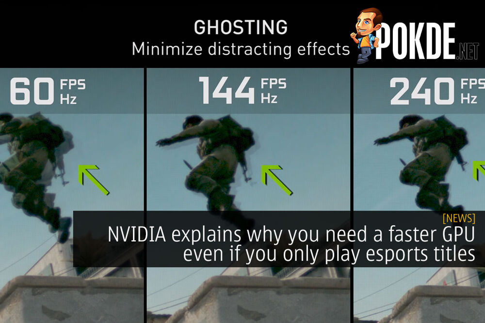 NVIDIA explains why you need a faster GPU even if you only play esports titles 16