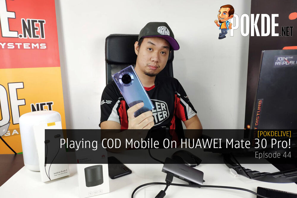 PokdeLIVE 44 — Playing COD Mobile On HUAWEI Mate 30 Pro! 22