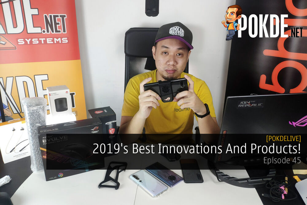 PokdeLIVE 45 — 2019's Best Innovations And Products! 20
