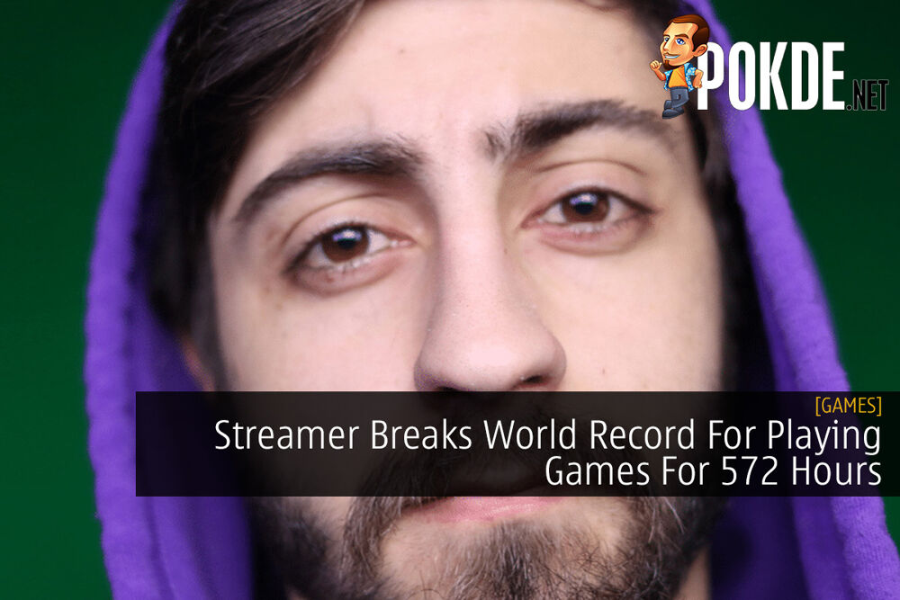 Streamer Breaks World Record For Playing Games For 572 Hours 32