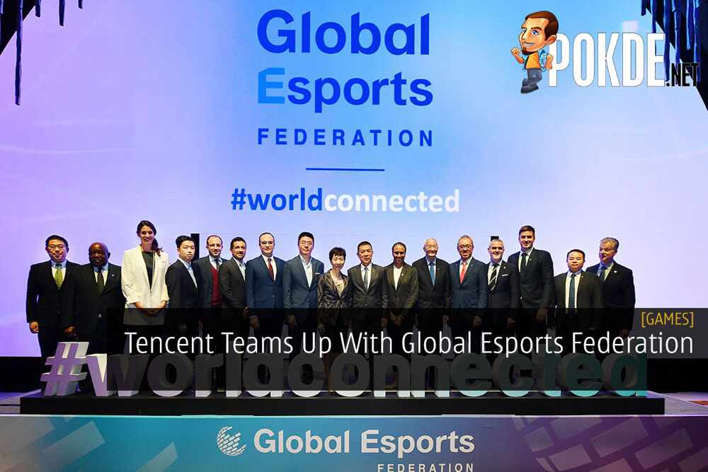 Tencent Teams Up With Global Esports Federation 23