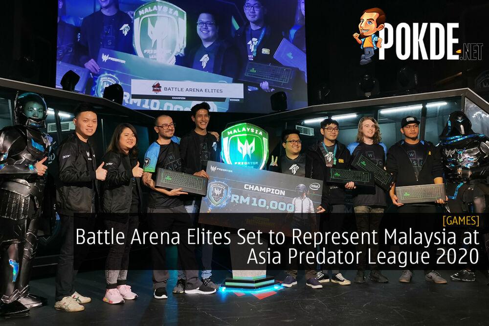 Battle Arena Elites Set to Represent Malaysia at Asia Predator League 2020 for PUBG