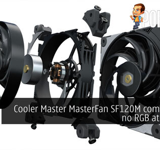 Cooler Master MasterFan SF120M comes with no RGB at RM119 29