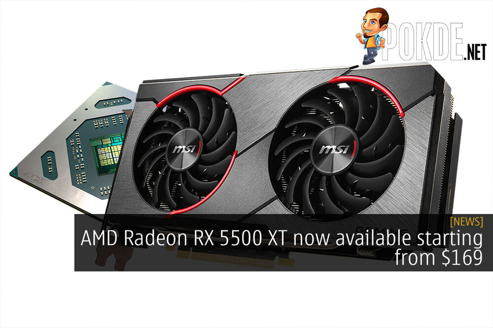 AMD Radeon RX 5500 XT now available starting from $169 16
