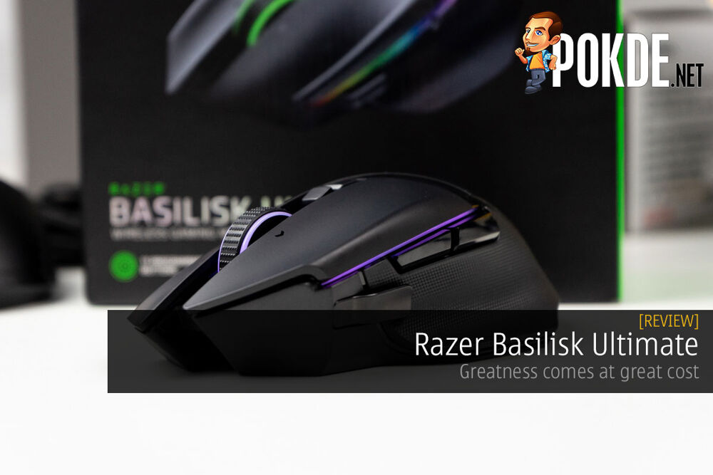 Razer Basilisk Ultimate Review — greatness comes at great cost 18