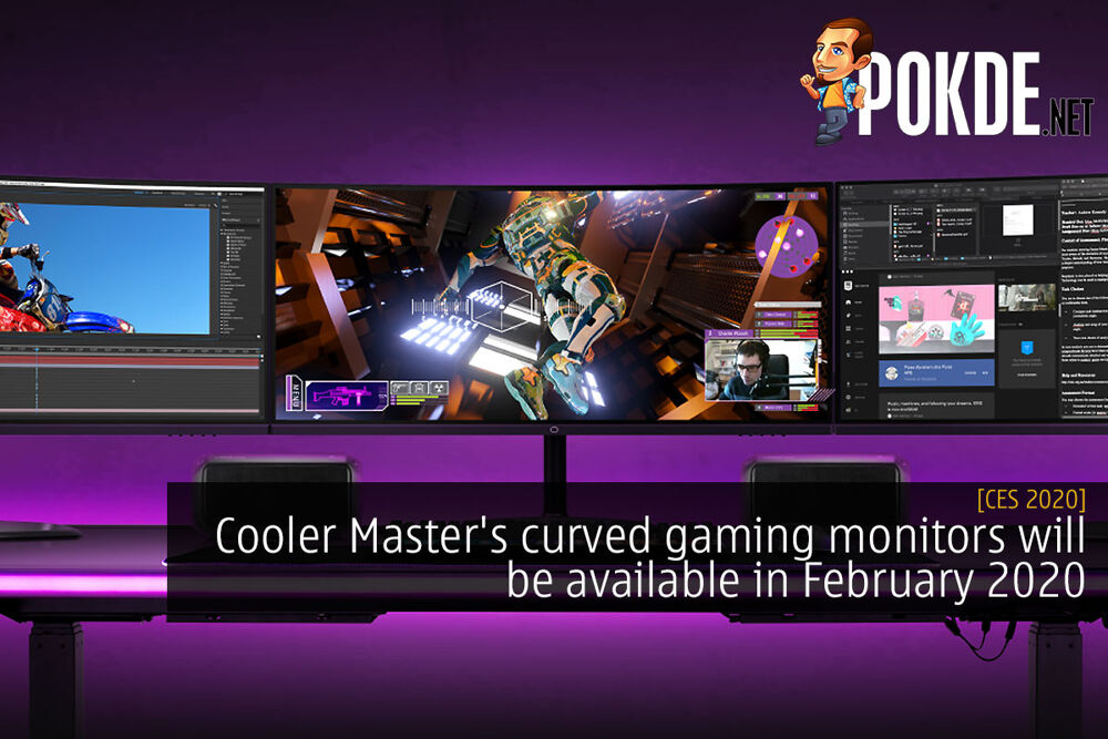 CES 2020: Cooler Master's curved gaming monitors will be available in February 2020 24