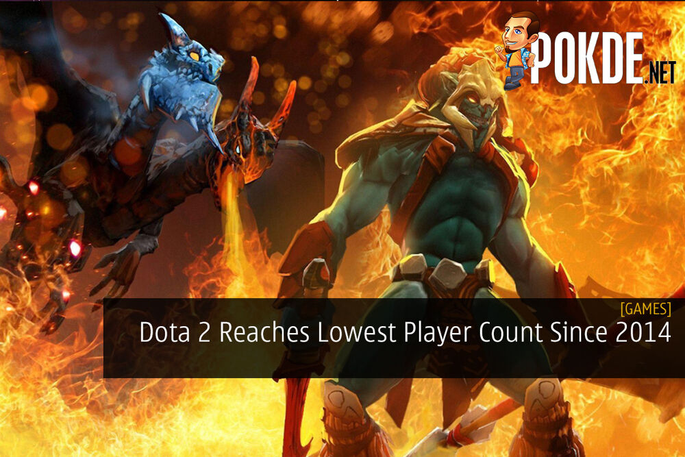 Dota 2 Reaches Lowest Player Count Since 2014 24