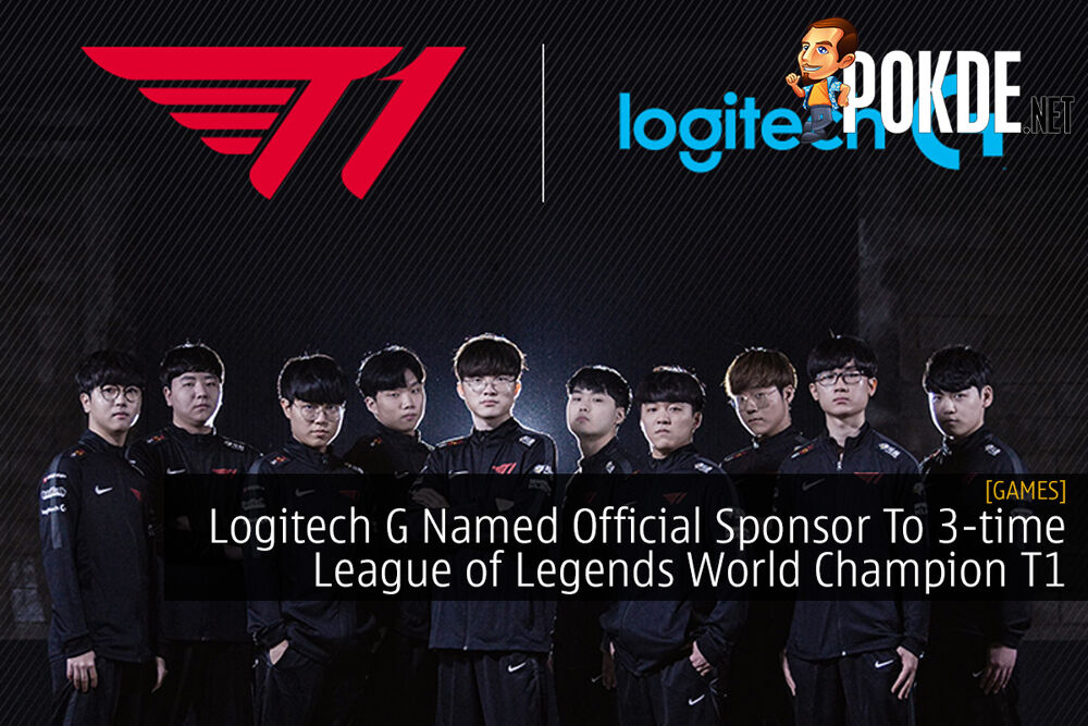 Logitech G Named Official Sponsor To 3-time League of Legends World Champion T1 26