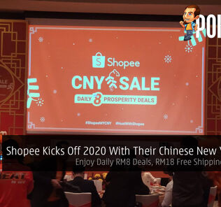 Shopee Kicks Off 2020 With Their Chinese New Year Sale — Enjoy Daily RM8 Deals, RM18 Free Shipping And More 19