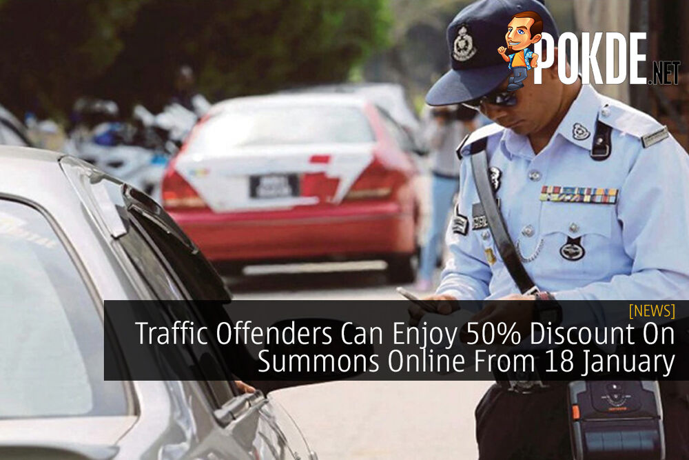 Traffic Offenders Can Enjoy 50% Discount On Summons Online From 18 January 21