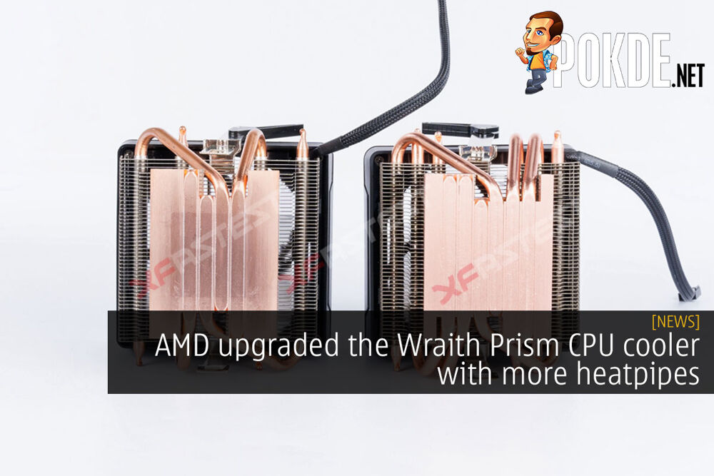 [UPDATED] AMD upgraded the Wraith Prism CPU cooler with more heatpipes 17