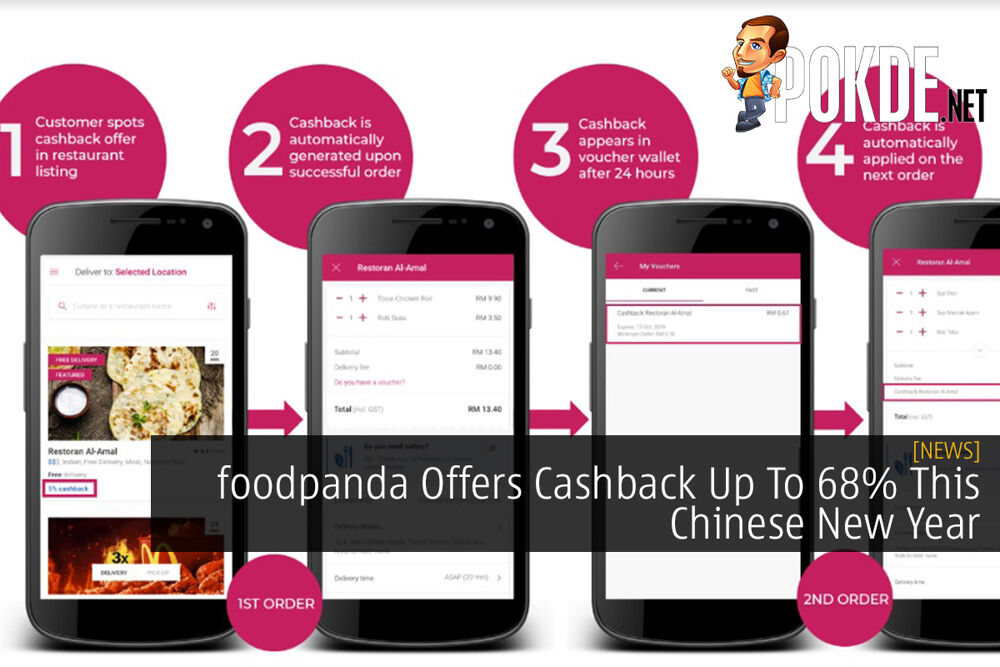 foodpanda Offers Cashback Up To 68% This Chinese New Year 29