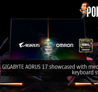 CES 2020: GIGABYTE AORUS 17 showcased with mechanical keyboard switches 28