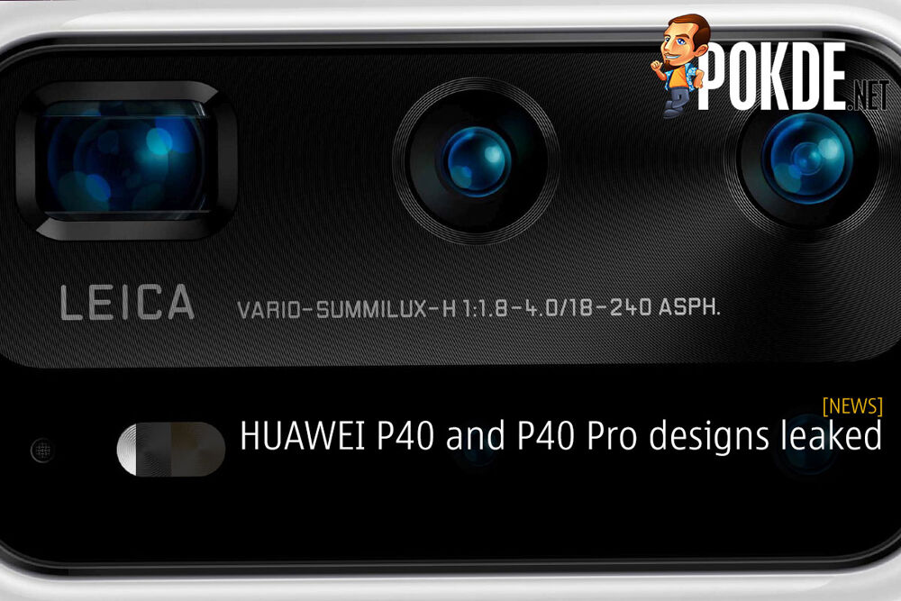 HUAWEI P40 and P40 Pro designs leaked 25