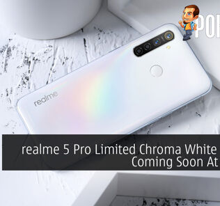 realme 5 Pro Limited Chroma White Edition Coming Soon At RM999 28