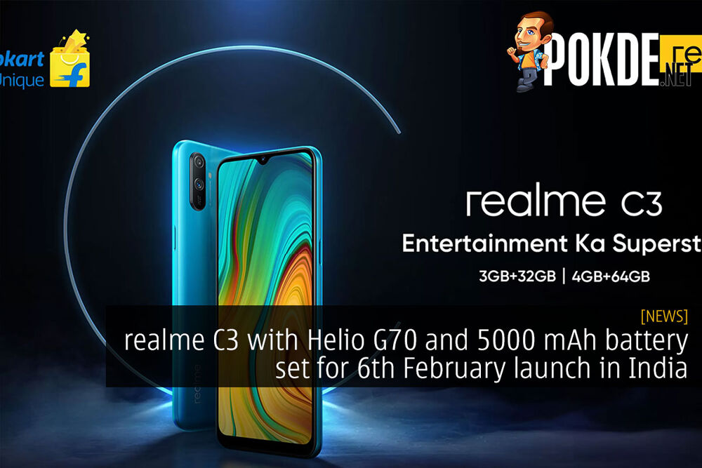 realme C3 with Helio G70 and 5000 mAh battery set for 6th February launch in India 22