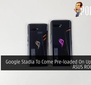 Google Stadia To Come Pre-loaded On Upcoming ASUS ROG Phone 20