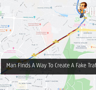 Man Finds A Way To Create A Fake Traffic Jam 27