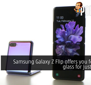 Samsung Galaxy Z Flip offers you foldable glass for just $1380 30