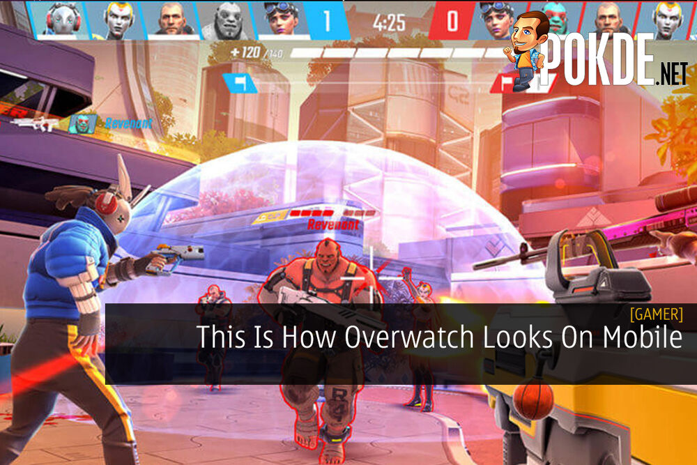 This Is How Overwatch Looks On Mobile 27