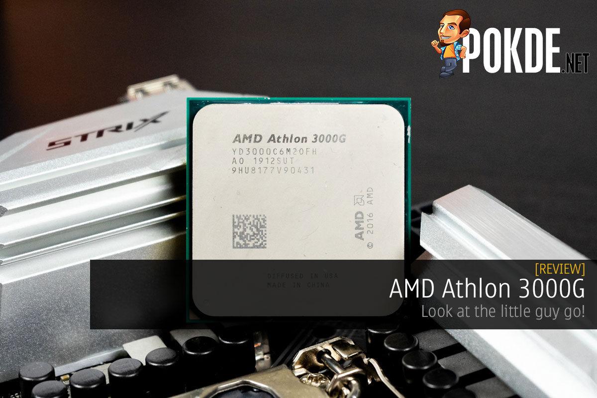 Amd Athlon 3000g Review Pokde Net