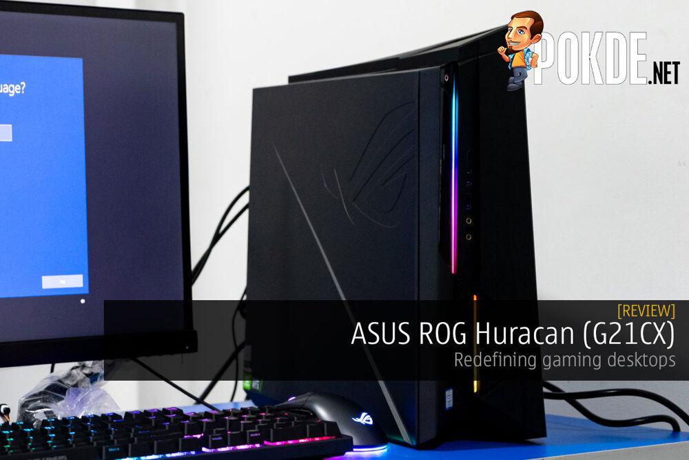 ASUS ROG Huracan (G21CX) Review — redefining gaming desktops 16