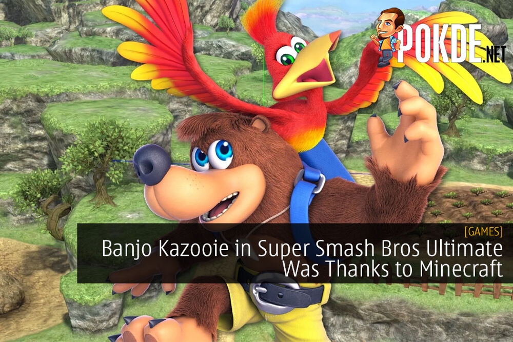 Banjo Kazooie in Super Smash Bros Ultimate Was Made Possible Thanks to Minecraft