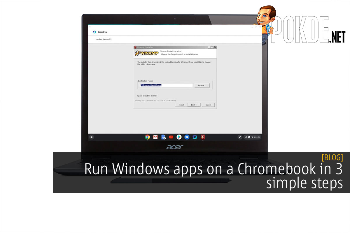 Run Windows apps on a Chromebook in 3 simple steps 8