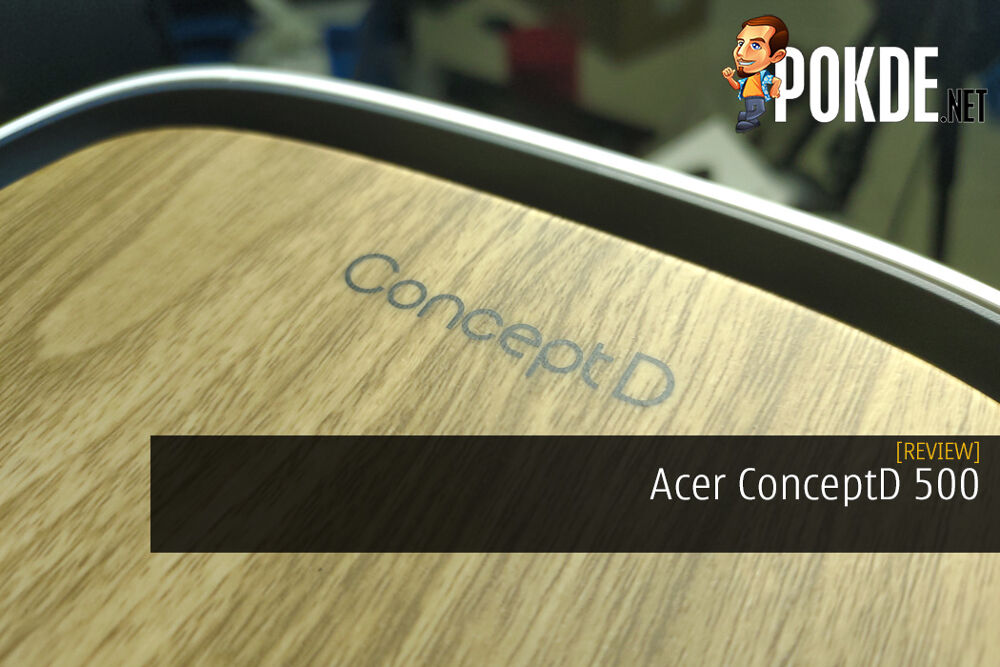 Acer ConceptD 500 Review - Looks Amazing But The Insides Need Refinement