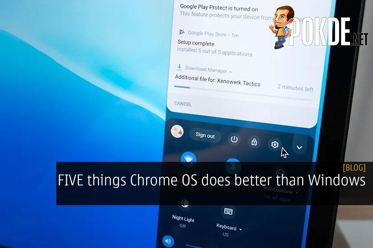 FIVE things Chrome OS does better than Windows 6