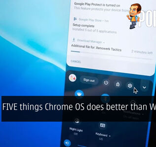 FIVE things Chrome OS does better than Windows 21