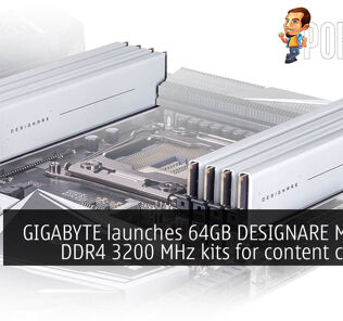GIGABYTE launches 64GB DESIGNARE Memory DDR4 3200 MHz kits for content creators 21