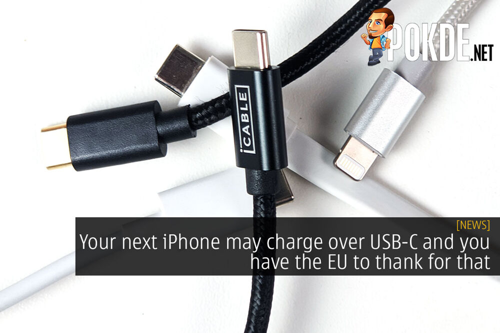 Your next iPhone may charge over USB-C and you have the EU to thank for that 20
