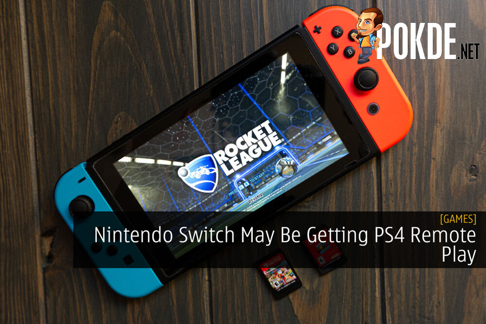 Nintendo Switch May Be Getting PS4 Remote Play