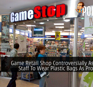 Game Retail Shop Controversially Ask Their Staff To Wear Plastic Bags As Protection 30