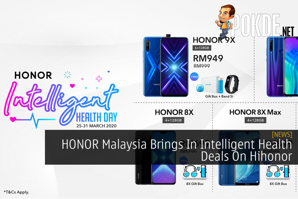 HONOR Malaysia Brings In Intelligent Health Deals On Hihonor 21