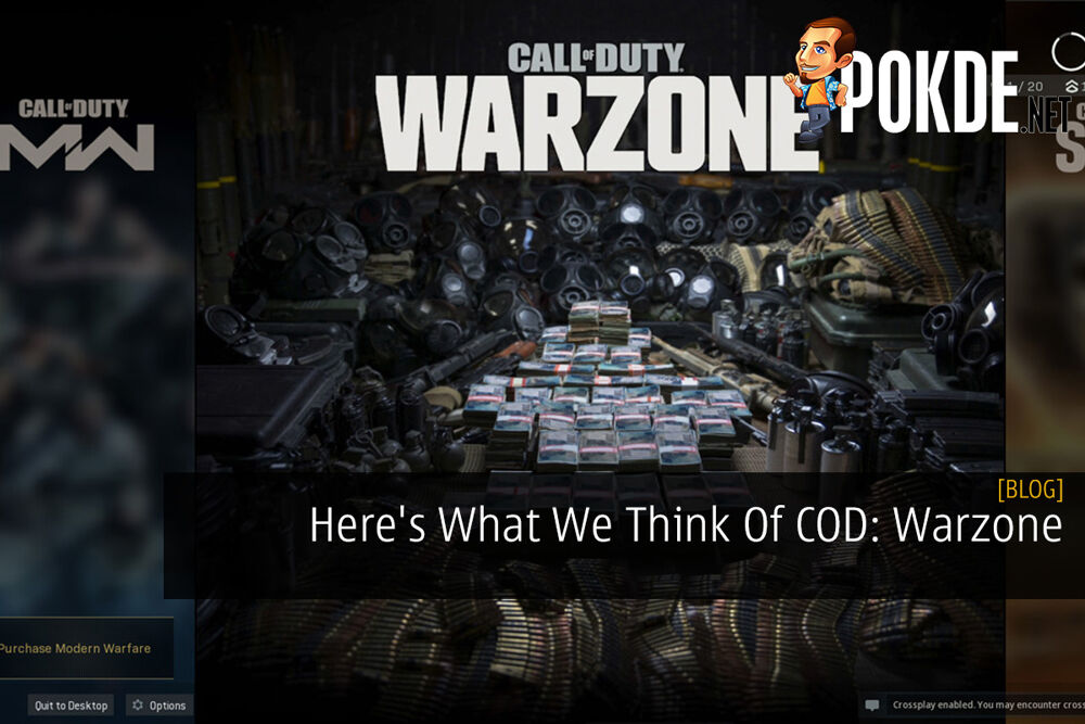 Here's What We Think Of COD: Warzone 20