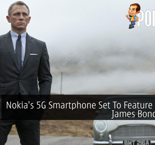Nokia's 5G Smartphone Set To Feature In New James Bond Movie 21