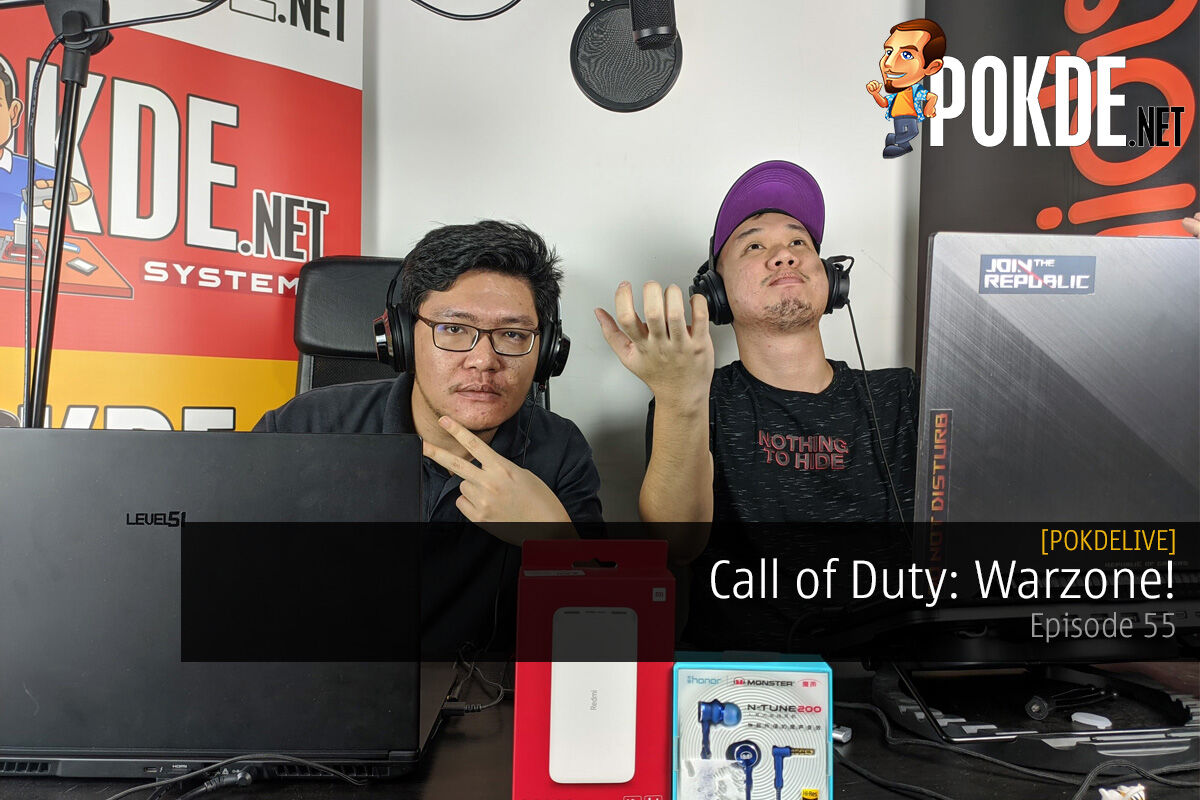 PokdeLIVE 55 — Call of Duty: Warzone! 8