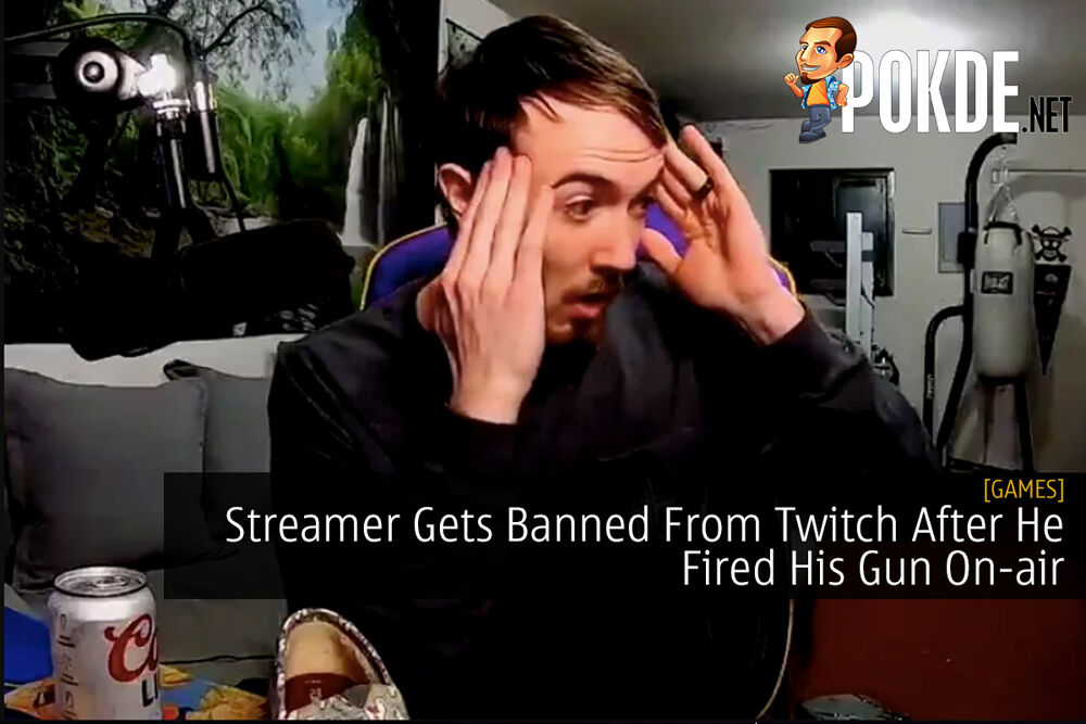 Streamer Gets Banned From Twitch After He Fired His Gun On-air 21