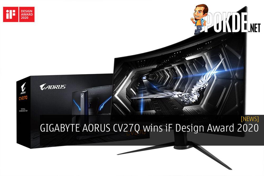 GIGABYTE AORUS CV27Q wins iF Design Award 2020 29