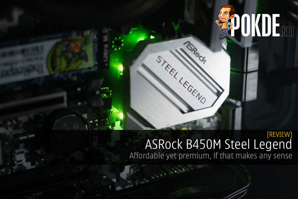 ASRock B450M Steel Legend Review — affordable yet premium, if that makes any sense 24
