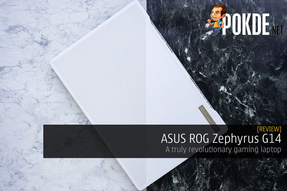 ASUS ROG Zephyrus G14 Review — a truly revolutionary gaming laptop 24